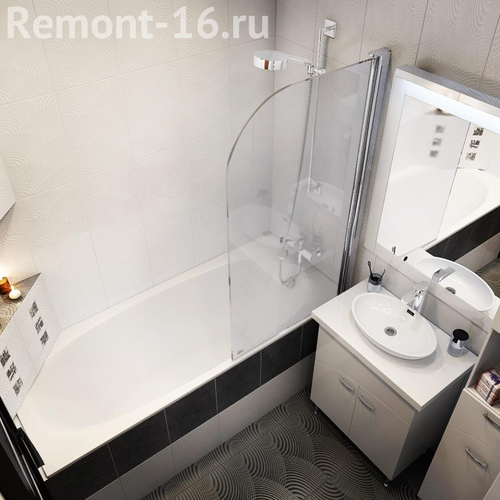 Дизайн ванной комнаты без унитаза реальные